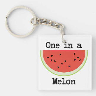 One in a Melon Keychain