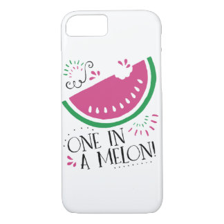 One in a Melon- Watermelon iPhone Case