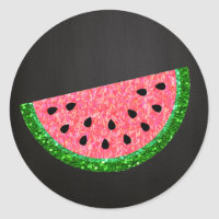 One in a melon, Watermelon Sticker, Label, Tag