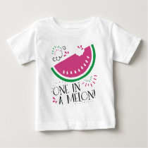 One in a Melon- Watermelon T-shirt
