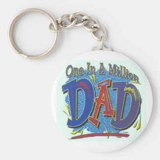 ONE IN A MILLION DAD KEY CHAIN