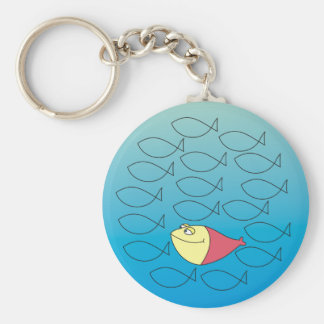 One in a Million, Fishes Illustrartion Keychain
