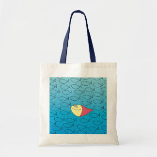 One in a Million! Funny Fishes Tote Bag