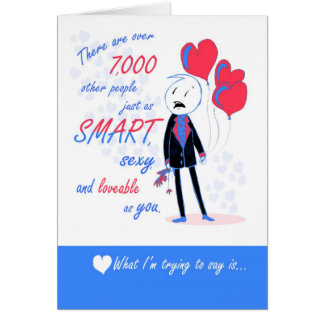 One in a Million - Gay Snarky Love You Card