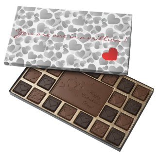 One in a Million Heart Assorted Chocolates
