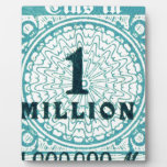One In A Million Photo Plaque