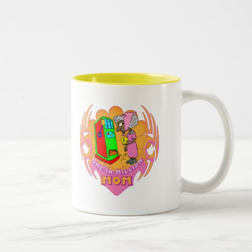 One In A Million Slot Machine Mothers Day Gifts Coffee Mug