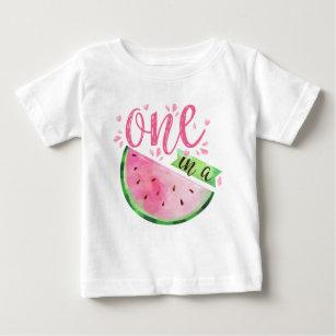 Surfing Watermelon T-Shirt 1Tee Kids Girls What A Melon