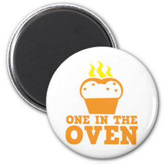 one in the oven 2 inch round magnet