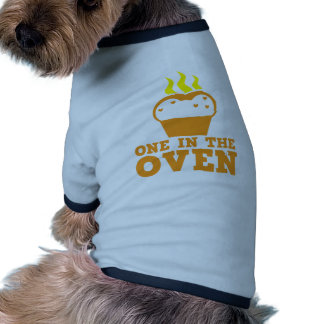 one in the oven dog t-shirt