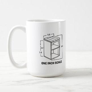 One inch scale dollhouse miniature lover mug! coffee mug