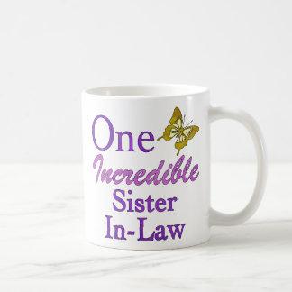 One Incredible Sister-In-Law Coffee Mug