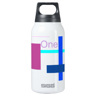 One Insulated Water Bottle