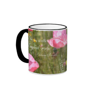 One Joy Coffee Cups Ringer Coffee Mug
