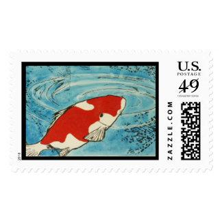 One KOI Stamp