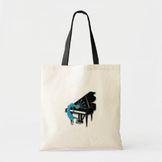 One Kokopelli #124 Canvas Bag