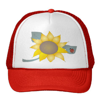 ONE LADYBUG by SHARON SHARPE Trucker Hat