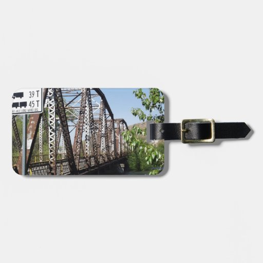 One Lane Bridge Luggage Tags