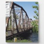 One Lane Bridge Photo Plaque