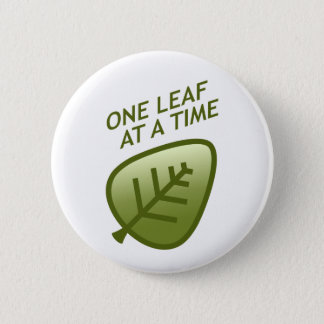 One Leaf At A Time Button
