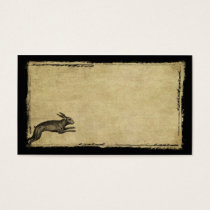 One Leaping Hare- Prim Biz Cards