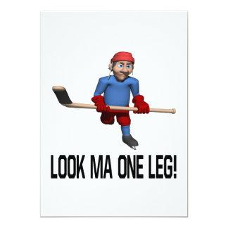 One Leg Card