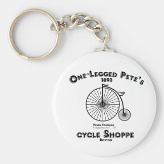 One Legged Pete's Cycle Shoppe, Boston. Keychain