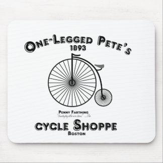 One Legged Pete's Cycle Shoppe, Boston. Mouse Pad