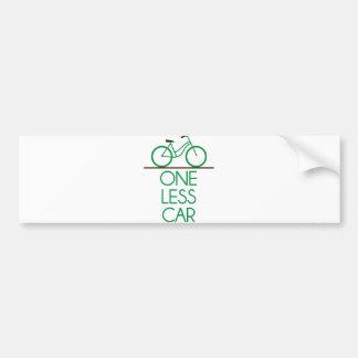 One Less Bumper Stickers Car Stickers Zazzle