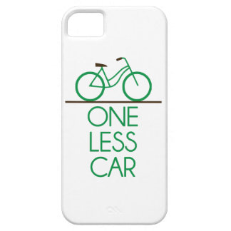 One Less Car Earth Friendly Bicycle iPhone 5 Case