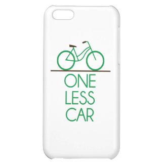 One Less Car Earth Friendly Bicycle Case For iPhone 5C