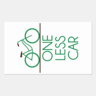 One Less Car Stickers Zazzle
