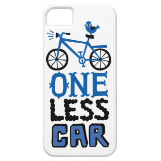 One Less Car  iphone 5 case
