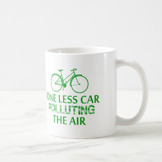 One Less Car Polluting the Air Coffee Mug
