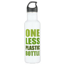 One Less Plastic Bottle