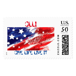 ONE LIFE LIVE IT STAMP