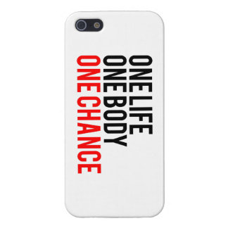 One Life One Body One Chance Case For iPhone SE/5/5s