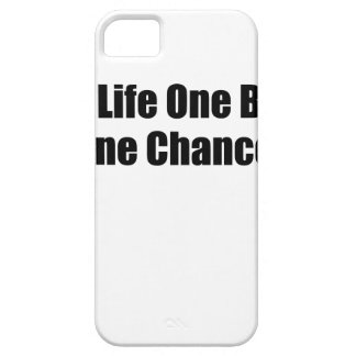 One Life One Body One Chance T-Shirts S.png iPhone SE/5/5s Case