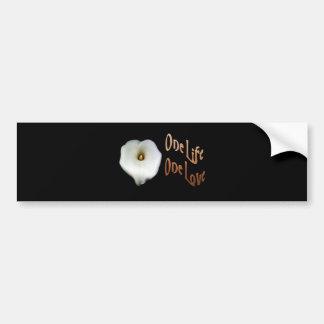 One Life, One Love Bumper Sticker