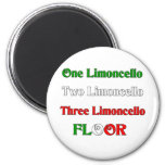 One Limoncello Refrigerator Magnets