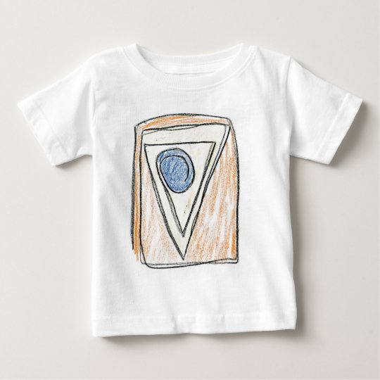 One Line of Many Shapes Baby T-Shirt