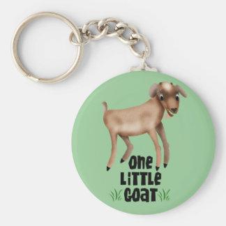 One Little Goat Keychain
