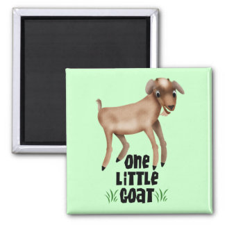 One Little Goat Magnets
