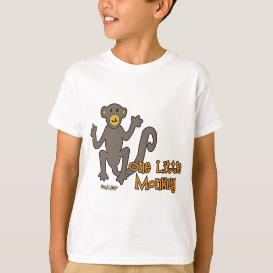 One Little Monkey T-Shirt
