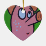 One little pig ornament