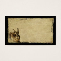 One Lone Hare- Prim Biz Cards