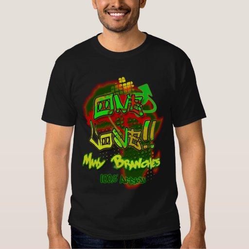 """One Love"" - 100% African Shirt"