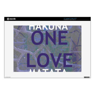 "One Love 15"" Laptop For Mac & PC Skin Decal For 15"" Laptop"