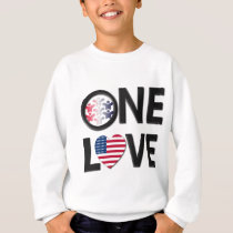 One Love American Colors Sweatshirt