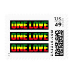 ONE LOVE banner stamps